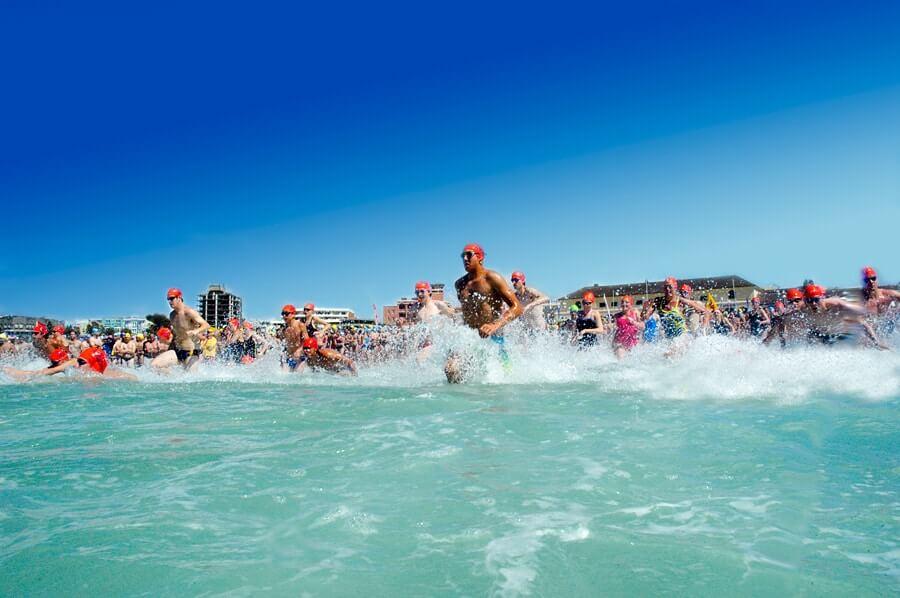 bondi to bronte ocean swim